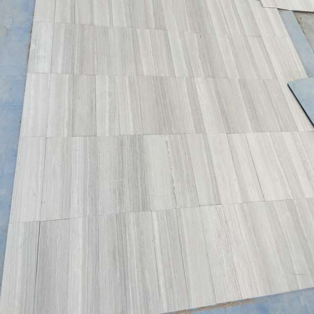 Light Wooden Marble Floor