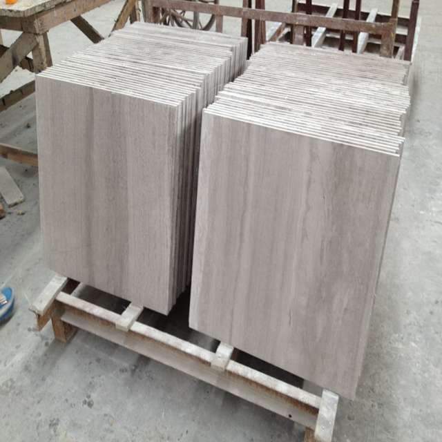 Light Wooden Marble Tile