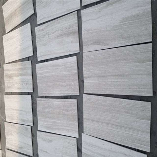 White Woodgrain Marble